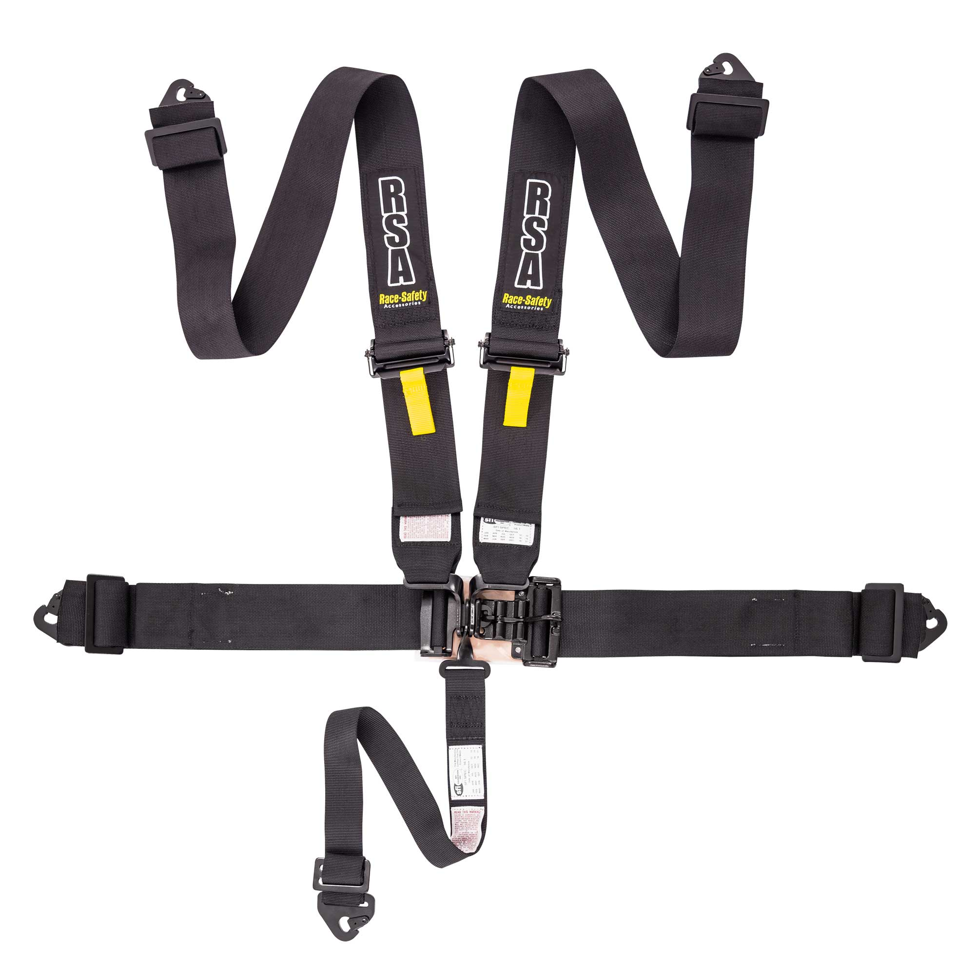 5 Point Harness With Nascar Buckle Various Colours